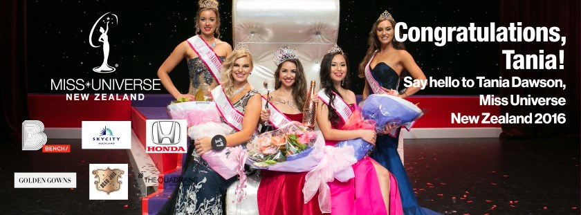 Miss Universe New Zealand: the competition